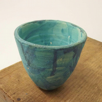 Sale Ceramic sea glazed pot