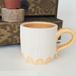 Ceramic mug hand thrown mug pottery mug coffee cup tea mug