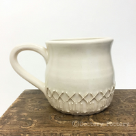 Ceramic cup hand thrown mug pottery mug coffee cup tea mug