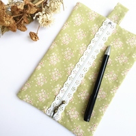Spring Green Pencil Case