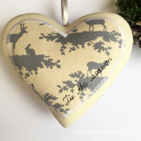 Luxurious Christmas Heart