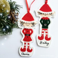 Personalised Elf Decoration