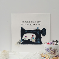 Singer Sewing Machine Embroidery Art