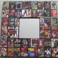 Horror and Sci-Fi Film Posters Decoupage Mirror