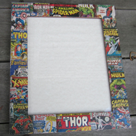 Marvel Super Heroes Decoupage Picture or Photo Frame