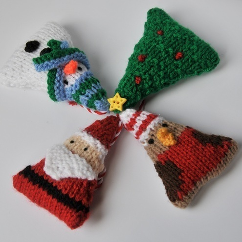 Basic Cable Knit Scarf Pattern : Christmas tree ornaments knitting pattern pdf - Folksy