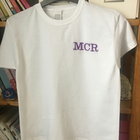 Children's T shirts Embroidered personalised