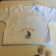 Personalised baby vest t-shirt