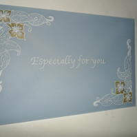 Gift Envelopes, parchment craft, personalised, individual, handmade