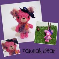 Talullah Bear bag charm
