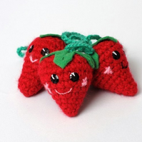 kawaii strawberry charm