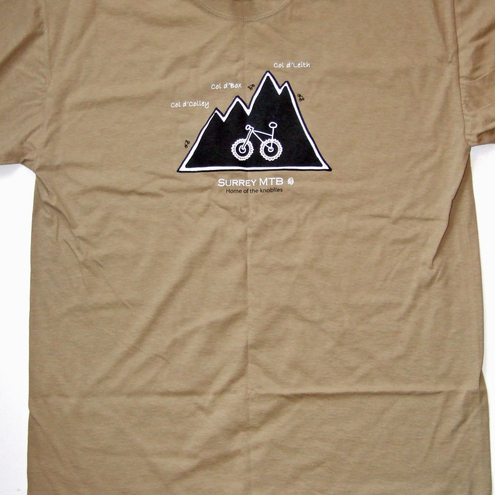 Leith Hill / Surrey Hills / North Downs mountain bike t-shirt
