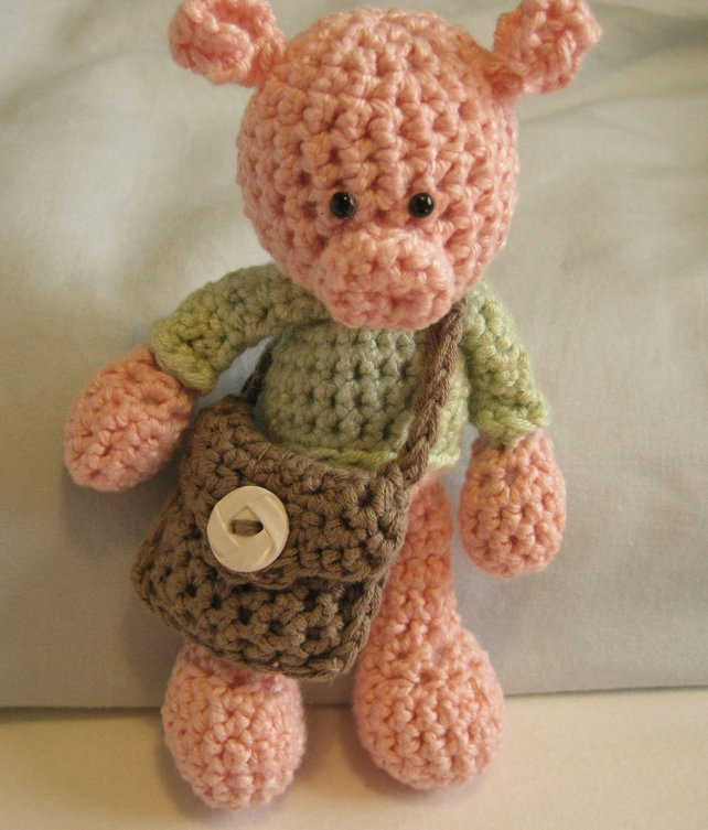 Little pig - free amigurumi pattern | Languages: English, Sp… | Flickr | 754x642