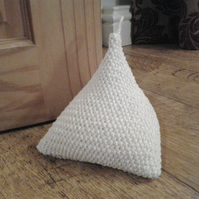 Cotton knitted Humbug door stop