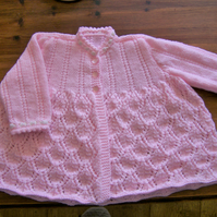 Vintage Baby's Matinee Cardigan