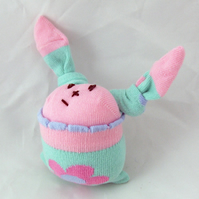 Dinky Minty Eastery Sock Bunny