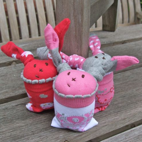 Hello Kitty Sock Bunnies