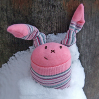 Little Pink Snow Bunny
