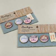 Folksy badges