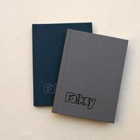 Grey Folksy notebook