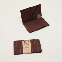 62% off Brown card wallet