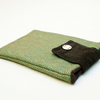Herringbone Tweed Kindle Case