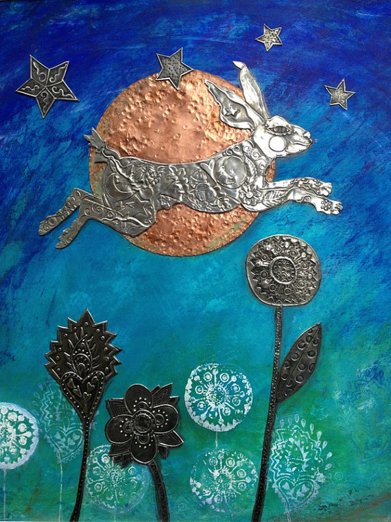 Magical hare assemblage