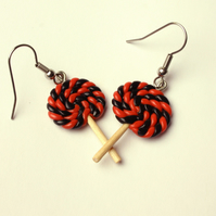 Halloween Lolly earrings