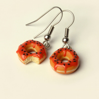 Halloween Doughnut earrings