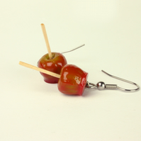 Toffee Apple earrings