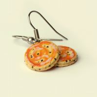 Welsh cake earrings