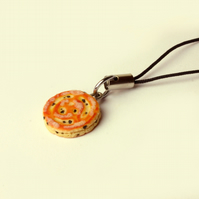 Welsh cake Bag or Phone charm