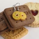 Jammie Biscuit earrings