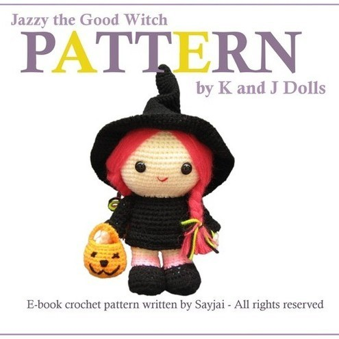 Jazzy the Good Witch - PDF Amigurumi crochet pattern