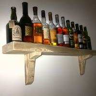 New Hand Made Chunky Rustic Shelves
