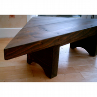 New Hand Made Rustic Corner Table