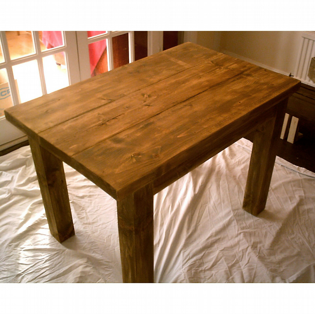 New rustic farmhouse, country kitchen table