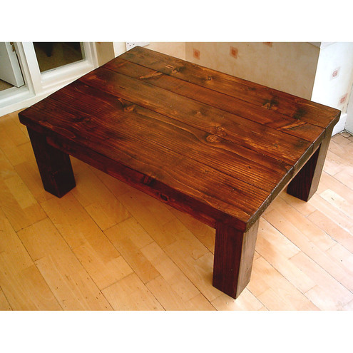 Large New Hand Made Coffee Table Folksy