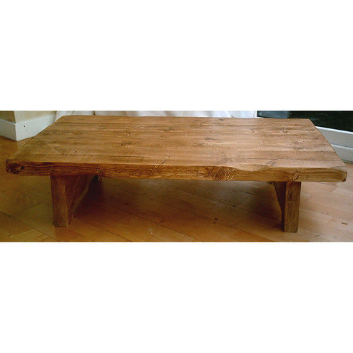 Hand made plank coffee table - rustic