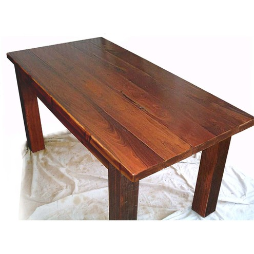 New Hand Made Rustic Dining Table