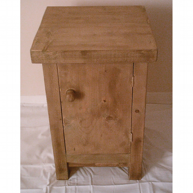 Chunky Rustic bedside cabinet