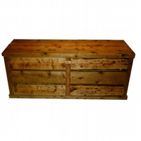 Brand New Hand Made Rustic Widescreen TV Unit