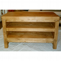New Hand Made Rustic TV Unit in Thick Solid Wood