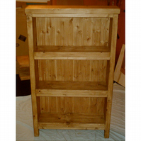 Brand New Hand Made Rustic Bookcase