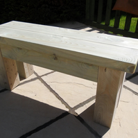 New Hand Made Rustic Garden Bench