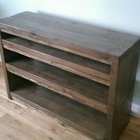 Large and Chunky Shelving Unit, Rustic