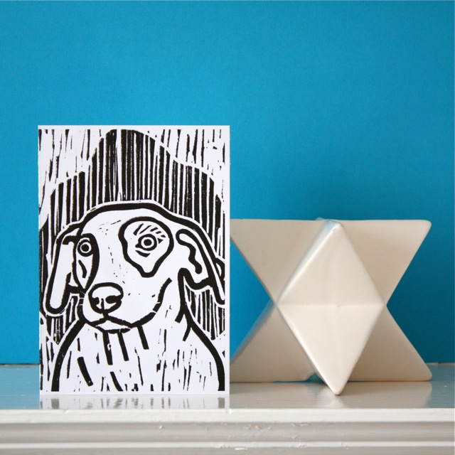 Dog Themed Card