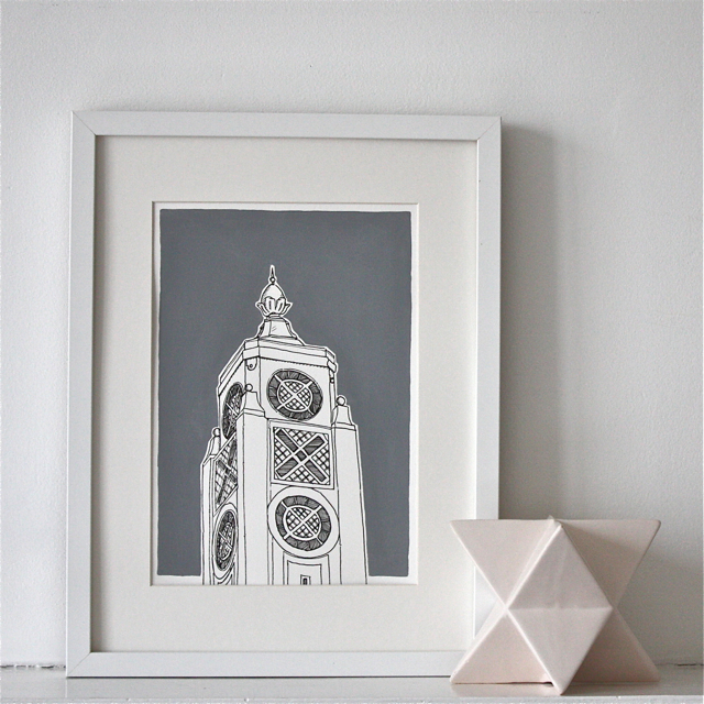 Oxo Tower Print
