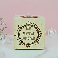Anniversary Candle Holder