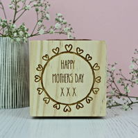 Mothers Day Tea Light Candle Holder